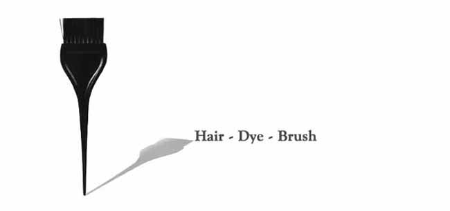 Marian Care Products Hair Dye Brush